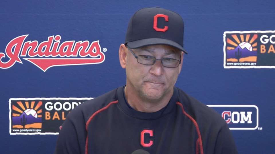 Indians set for Cactus opener