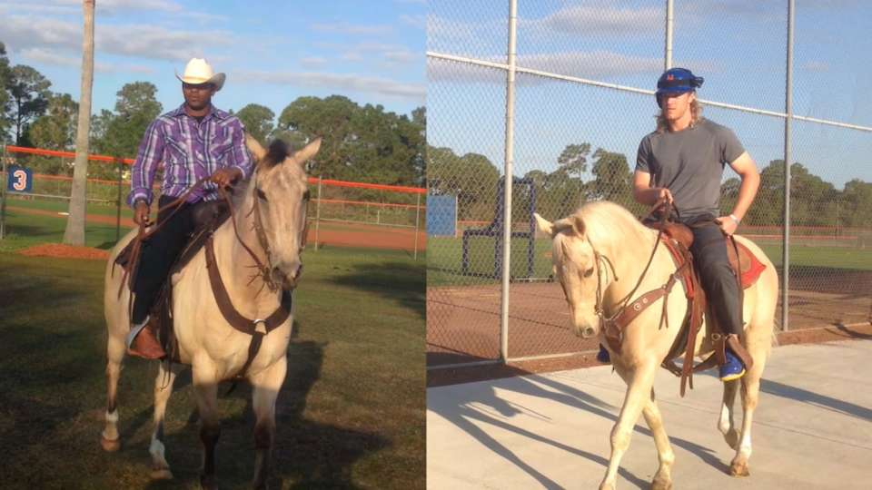 Mets channel their inner cowboy
