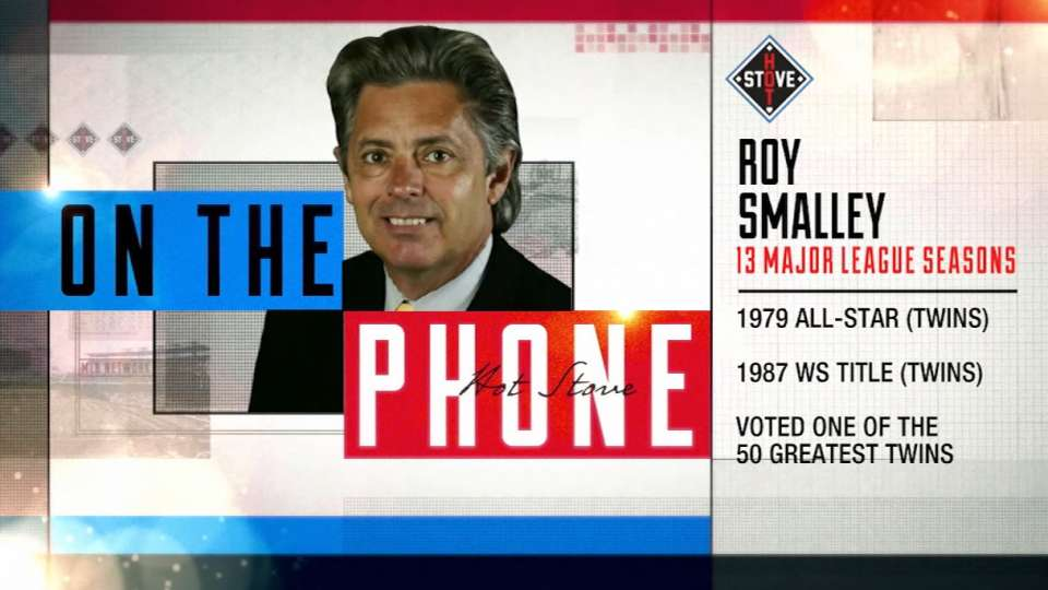 Roy Smalley joins Hot Stove
