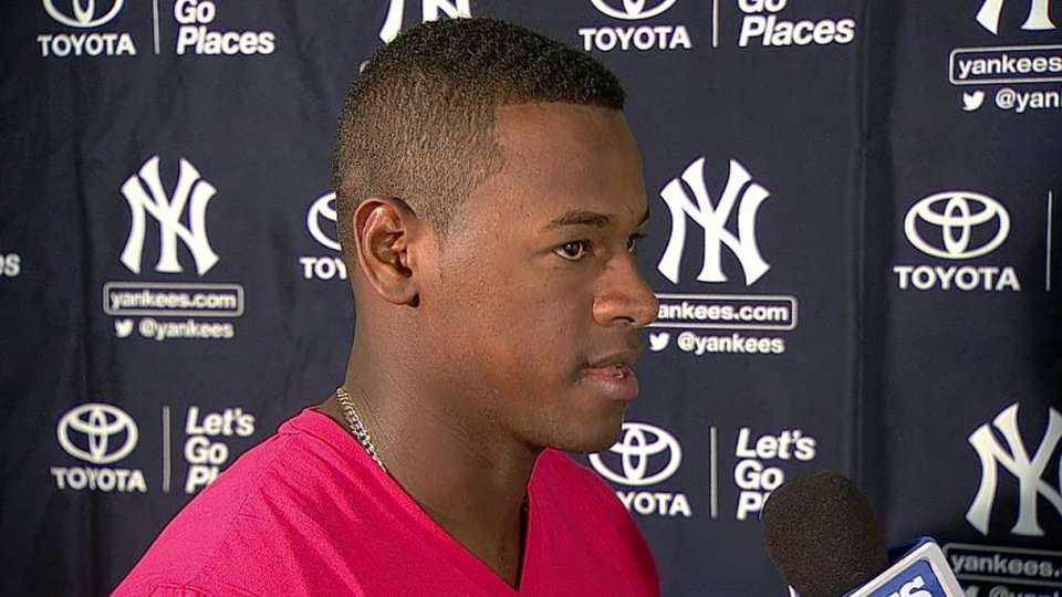 Severino on his short outing