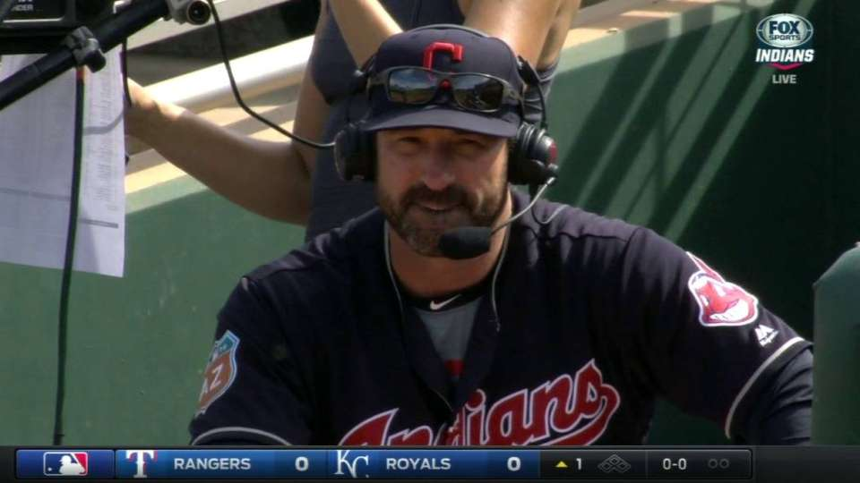Callaway on Tribe's rotation