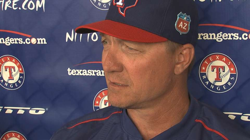 Rangers on first win of spring