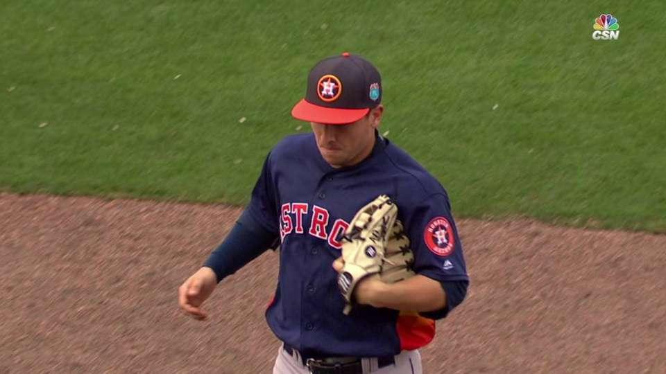 Astros turn double play