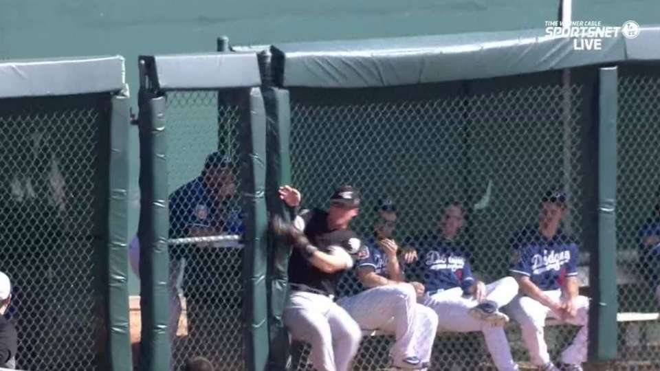 Sands' outstanding leaping grab