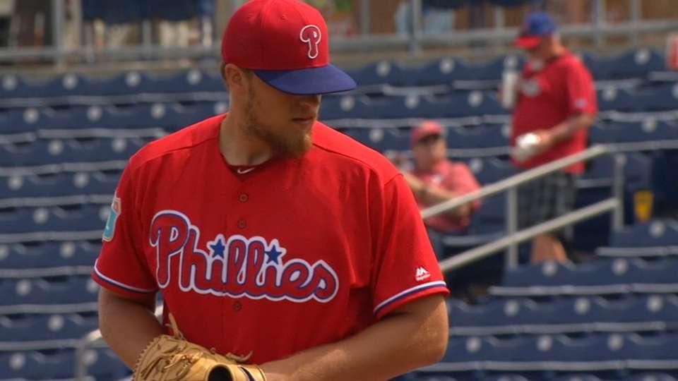 Thompson makes debut vs. Astros