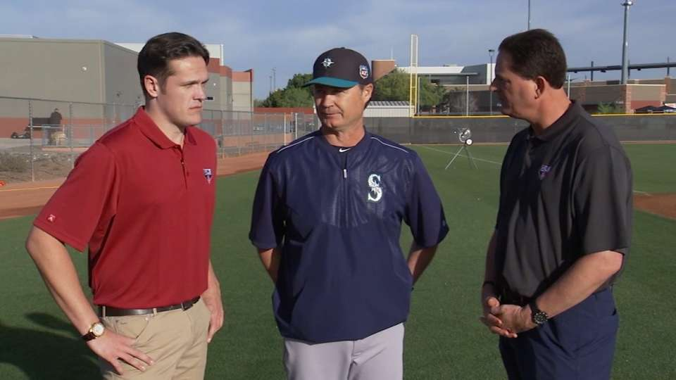 Servais on managing Mariners