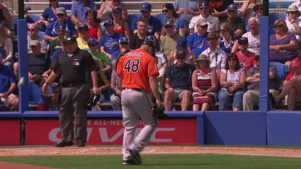 Worley strikes out Dominguez