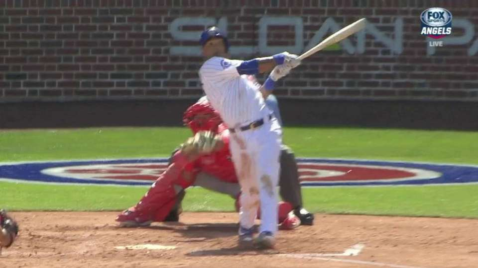 Russell's two-run homer