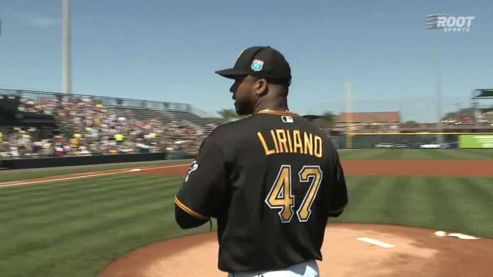 Liriano's hitless spring start