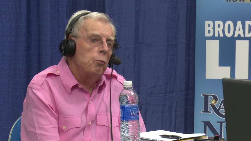 Peter Gammons at Rays Fan Fest