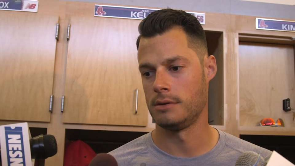 Red Sox discuss outing