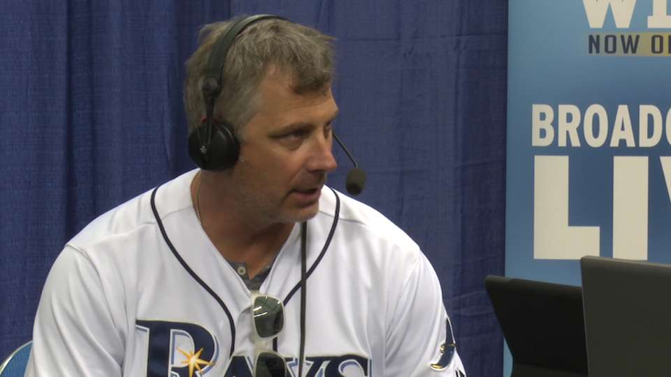 Derek Shelton at Rays Fan Fest
