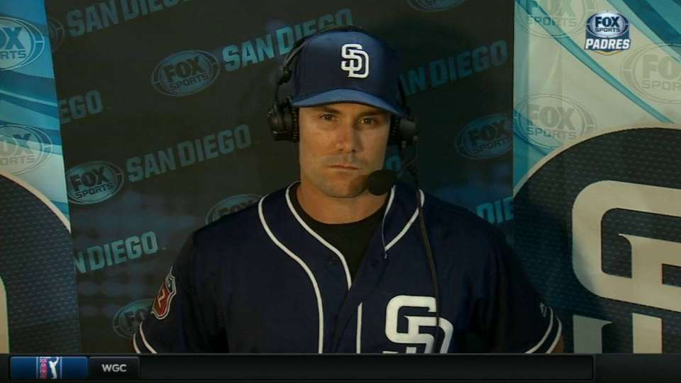 Schumaker on joining Padres