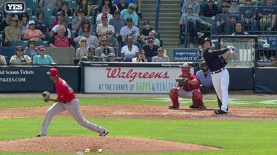 Judge's three-run homer