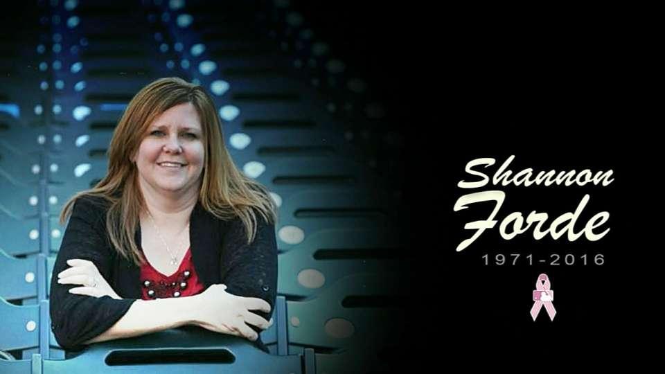 Yanks remember Shannon Forde