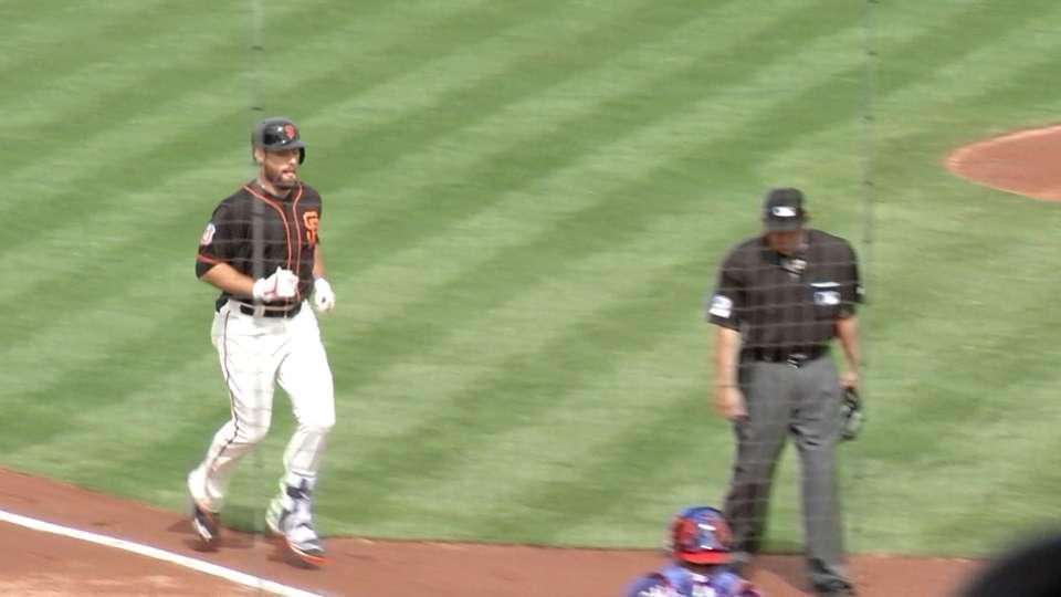 Williamson's solo home run