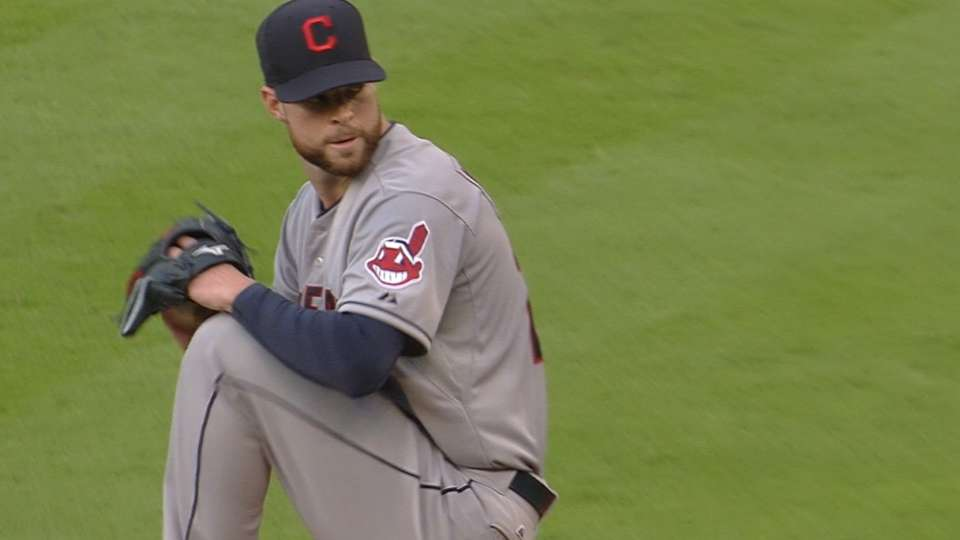Kluber, Francona on Opening Day
