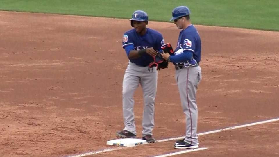 Profar's RBI single