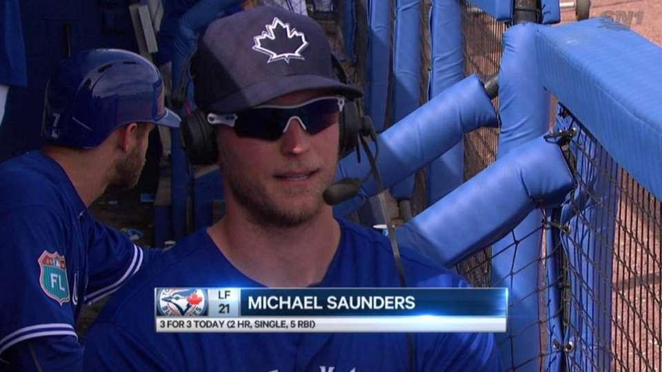 Saunders discusses his big day