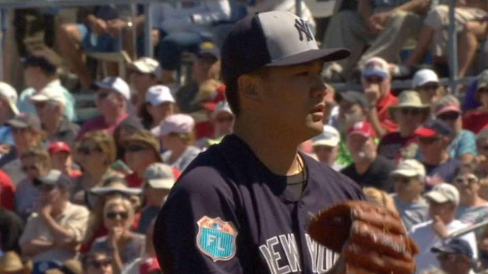 Tanaka's scoreless spring start