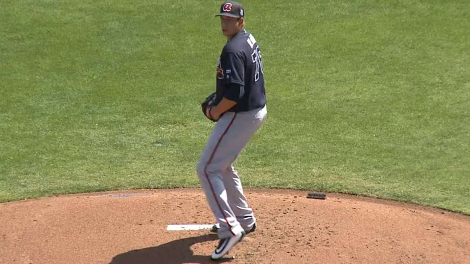 Blair's solid outing