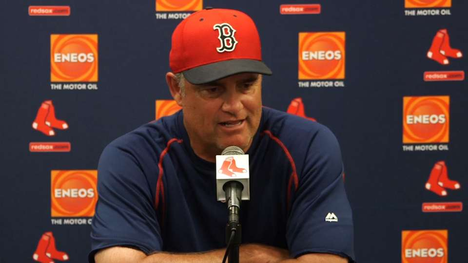 Farrell on loss to Rays