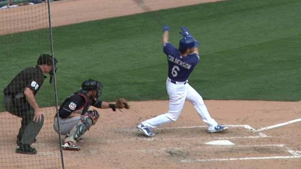 Culberson's three-run homer