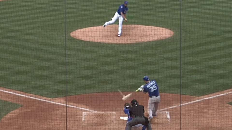 Hosmer's two-run double