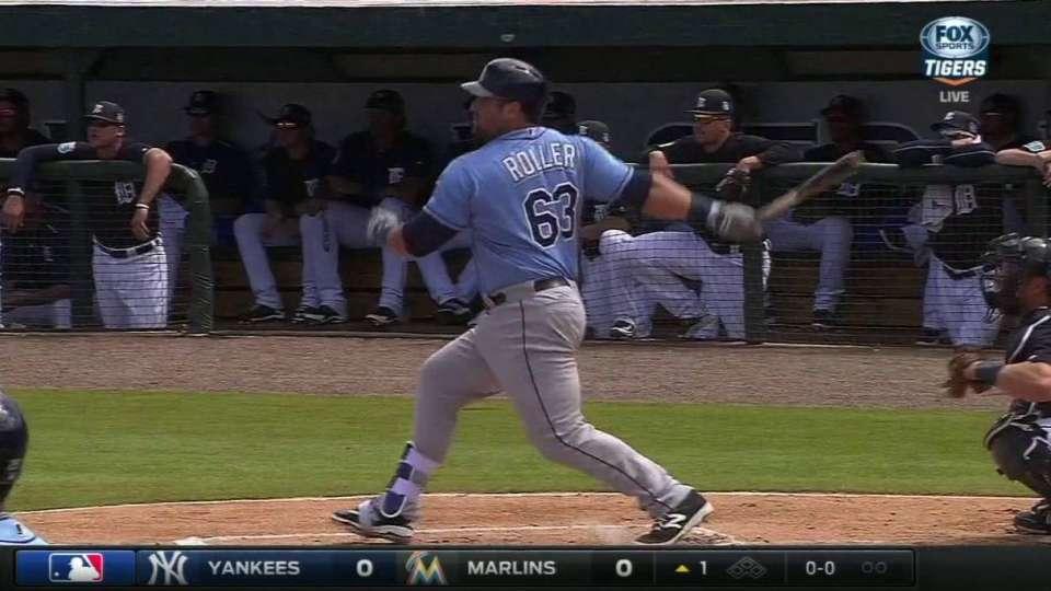 Roller's two-run homer