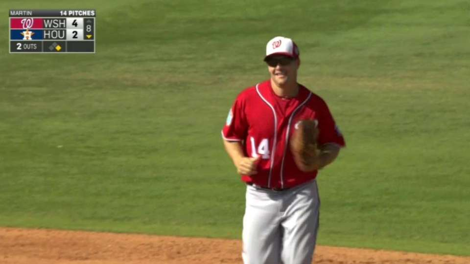 Campana's diving double play