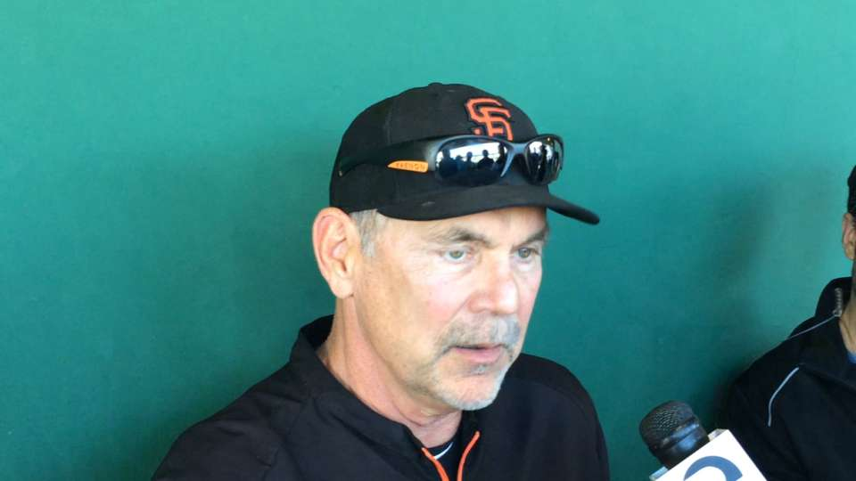 Bochy on Pence's injury status