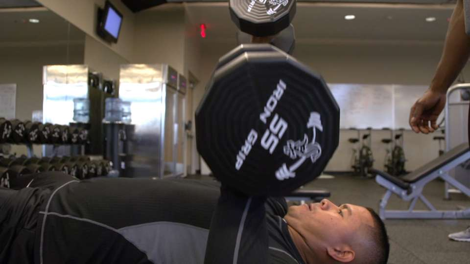 Inside the White Sox weight room