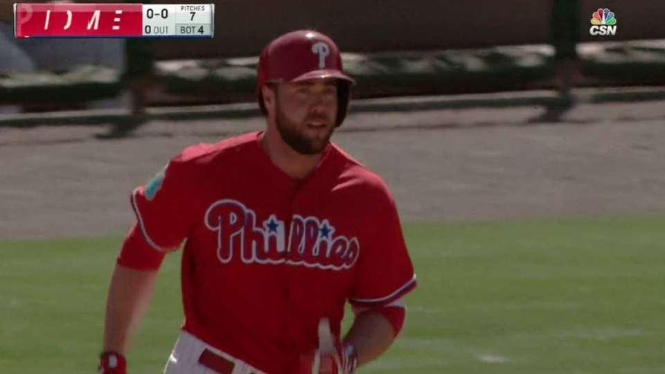 Ruf's second home run