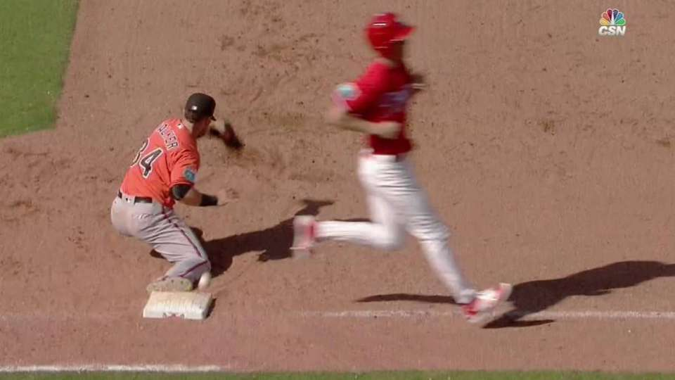 Perkins' RBI force out