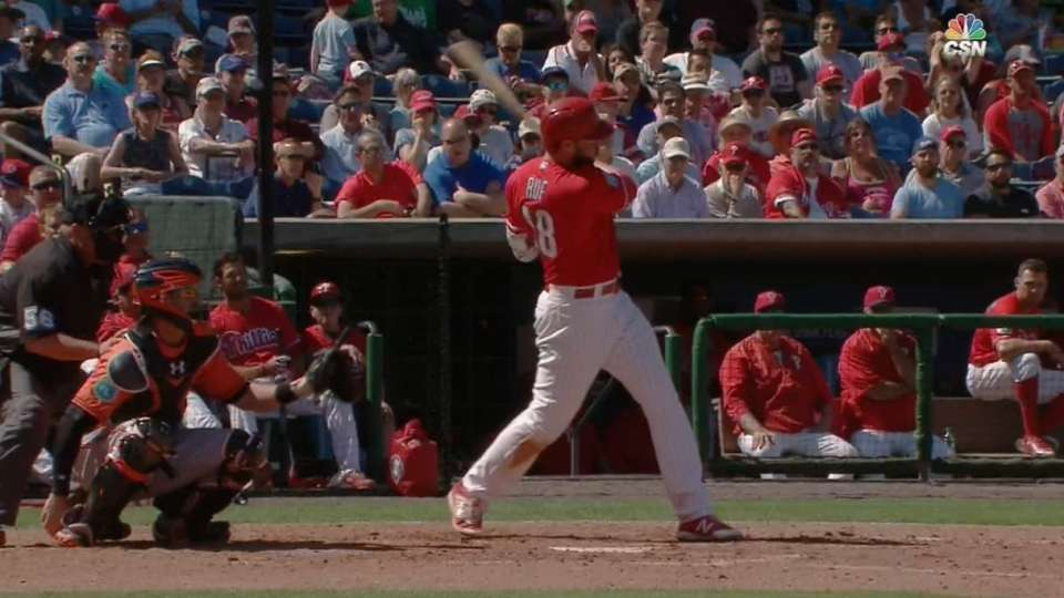 Ruf scorches two homers