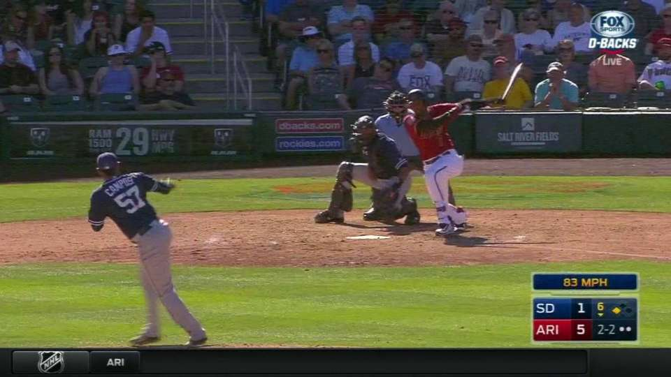 Arias delivers RBI single