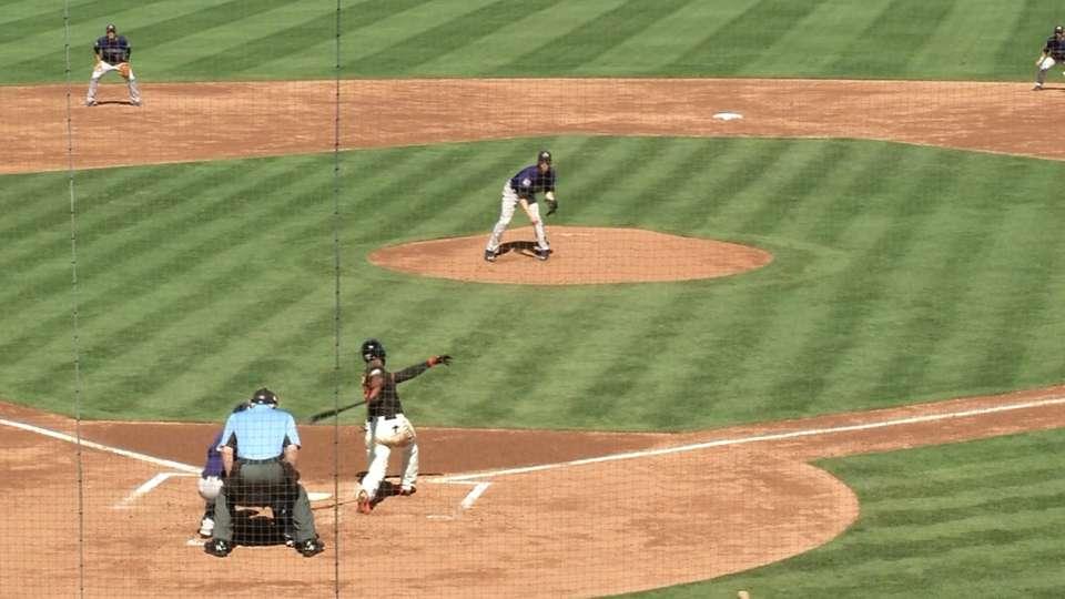 Butler strikes out Span