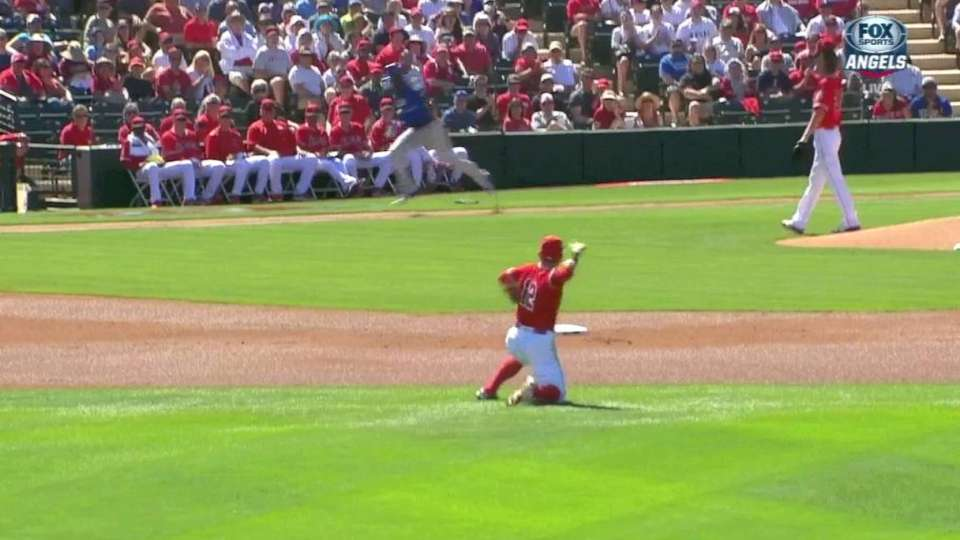 Giavotella's smooth diving play