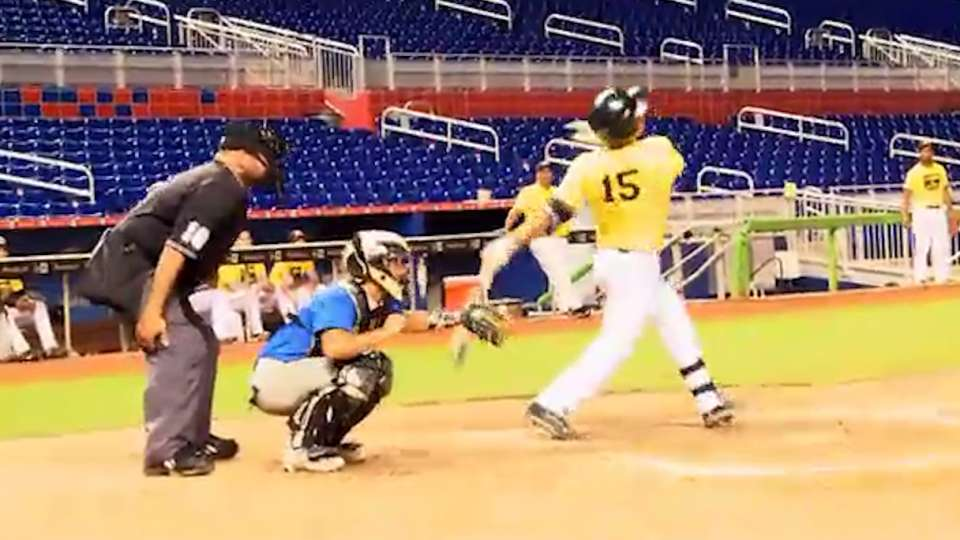 Marlins help as coaches for RBI
