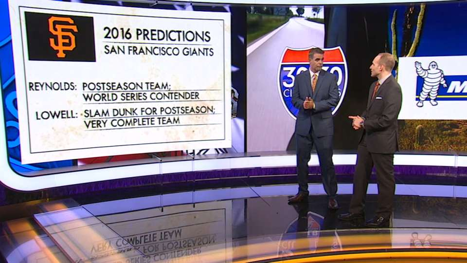 Predictions for 2016 Giants