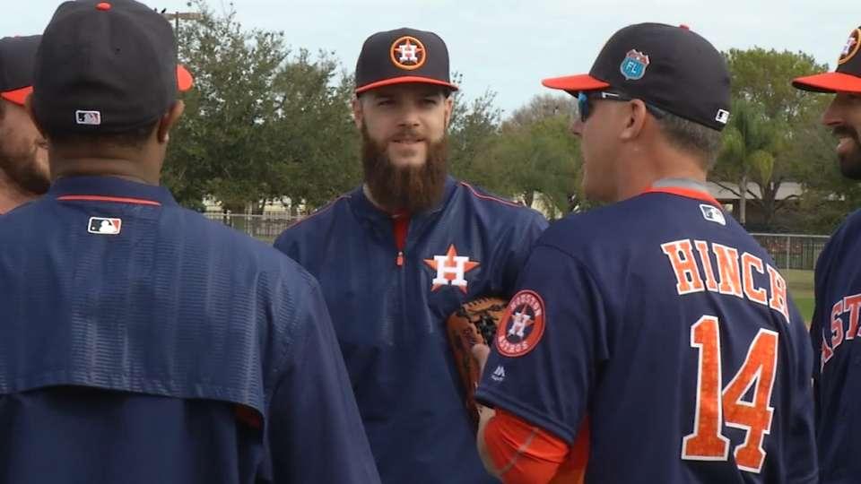 Astros tout impressive rotation