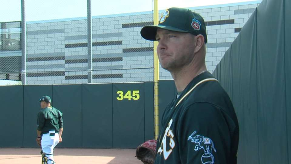 Madson on joining the Athletics