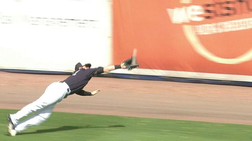 Gamel's incredible diving catch