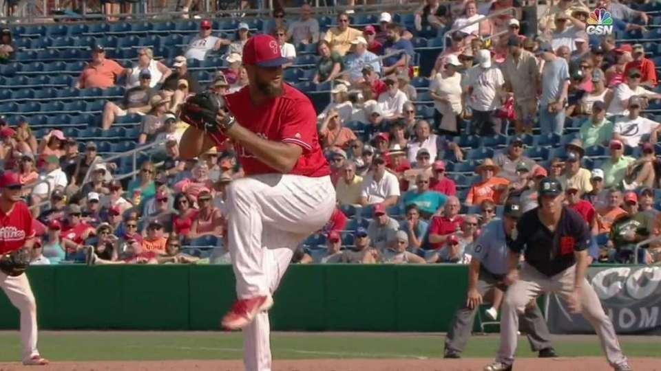 Garcia's strikeout ends a jam