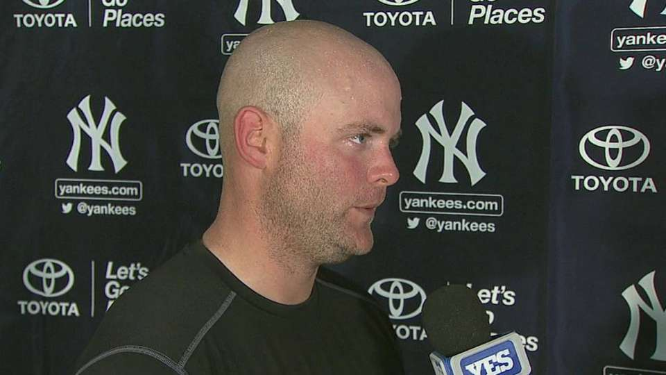 McCann on Yankees pitchers
