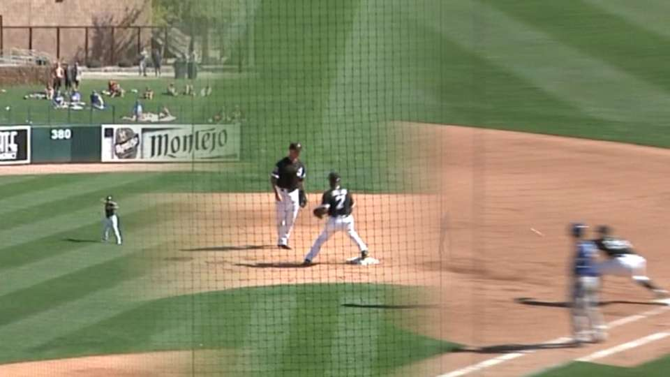 White Sox turn triple play