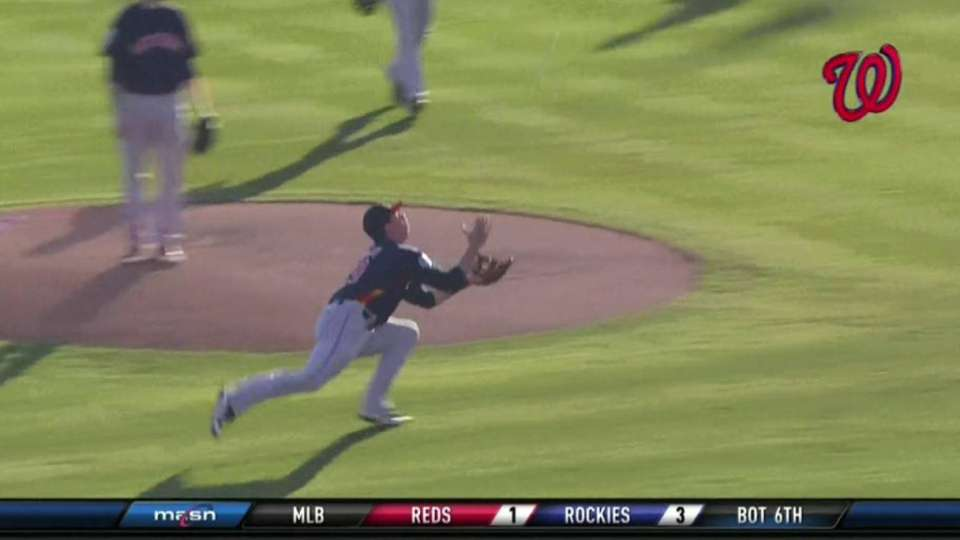 Duffy's diving catch