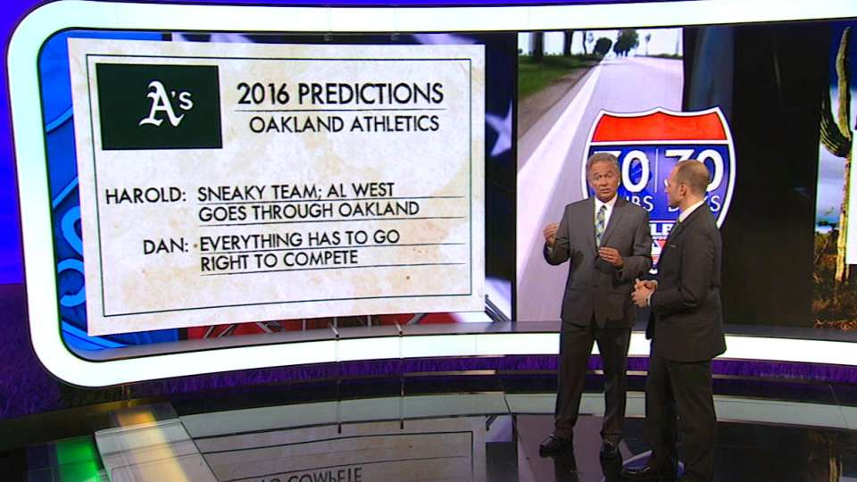 MLB Tonight: A's predictions