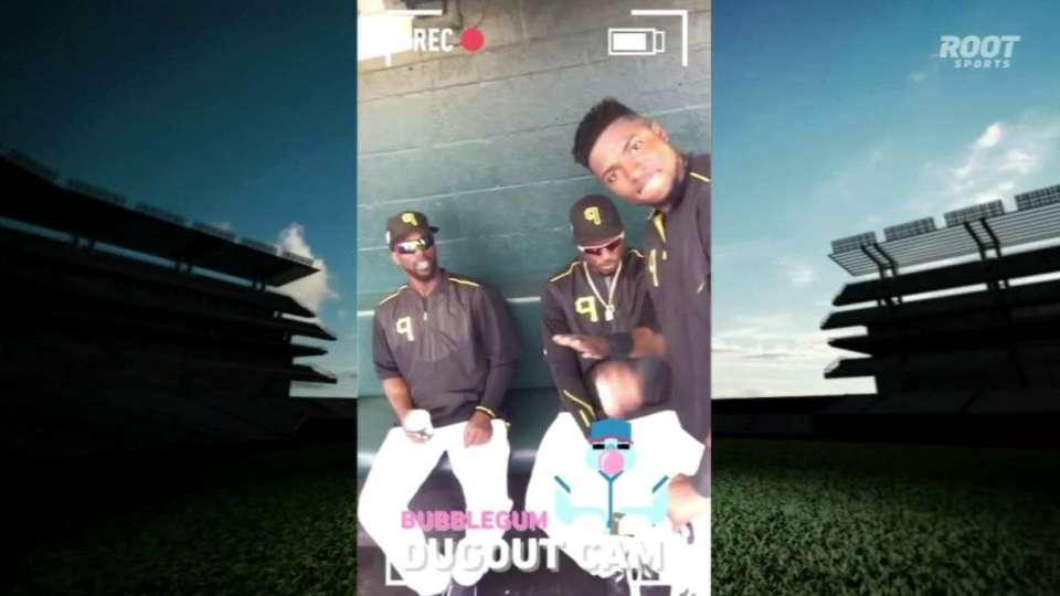 Pirates celebrate Snapchat Day