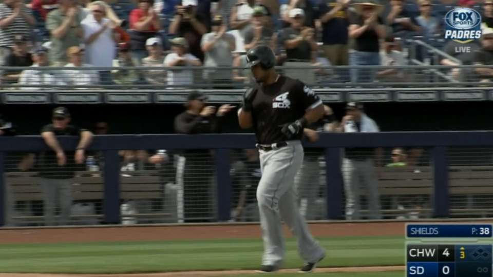White Sox homer thrice in 3rd